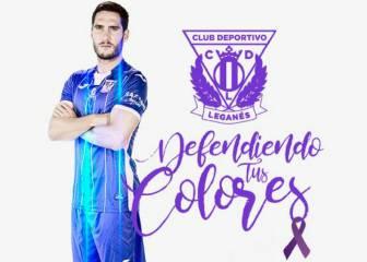 El Lega, de morado ante el Barça contra la violencia de género