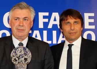 En Italia señalan que Ancelotti dice no y Conte se postula