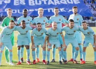 1x1 del Barcelona: Ter Stegen para y Luis Suárez, golea