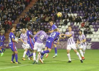 El Valladolid vuelve a ganar tras cinco jornadas al Oviedo