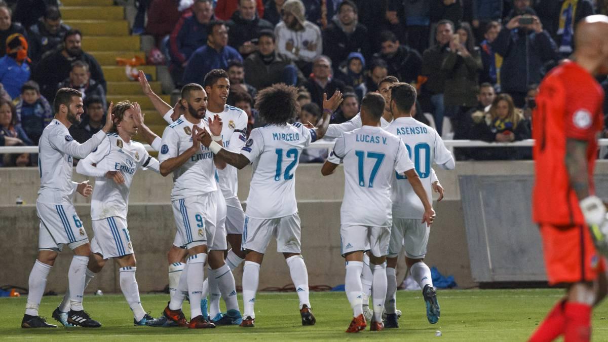 Apoel 0 6 real madrid resumen resultado y goles del for Resultado partido real madrid hoy