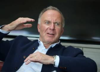 """Rummenigge, a los críticos: """"Invertimos más de 100 M?"""""""