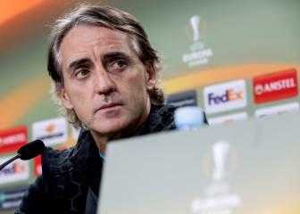 """Mancini: """"La Real es una de las mejores escuadras de Europa"""""""