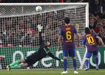 Messi, cero goles al Chelsea