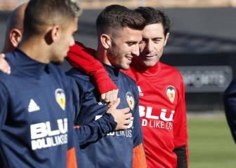 La lesión de Gayà no es grave y podría estar contra el Villarreal