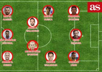 El mejor once de Segunda: Xisco, Herrero, Melero, Carmona...
