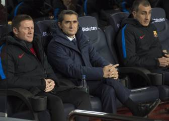 Valverde cena con su staff, colaboradores y sin los jugadores