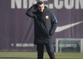 El Barça volverá a entrenarse con un ojo en el mercado
