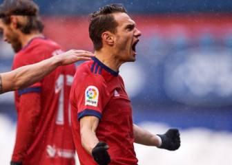 Año nuevo: alegría en Osasuna, la vida sigue igual en Valladolid