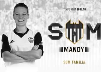 El Valencia ficha a la holandesa Mandy van den Berg