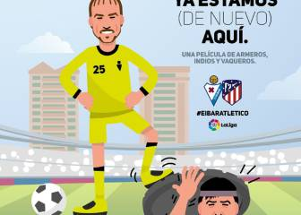 """El Eibar bromea con el Mono Burgos y su """"¡ya estamos aquí!"""""""