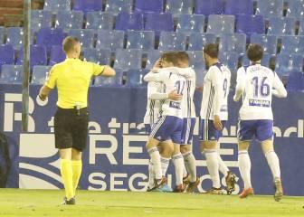 El Real Zaragoza se reencuentra con el triunfo