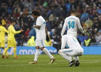 El Real Madrid se desploma en las segundas partes