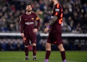 El Barcelona vuelve a perder tras cinco meses y 29 partidos