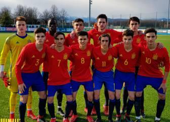Buen inicio de año de España Sub-17 con triunfo en Italia
