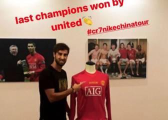 Guiño de un íntimo amigo de Cristiano al Manchester United