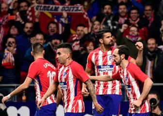 El vestuario del Atlético sí cree en la remontada en el Pizjuán