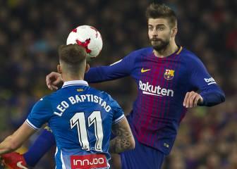El Espanyol pide investigar a Piqué, Busquets y los insultos