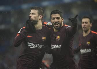 """Suárez defiende a Piqué: """"Era lo mínimo que podía hacer"""""""