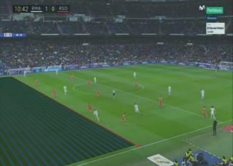 Cristiano no estaba en fuera de juego en el gol de Lucas Vázquez