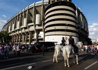 Más de 1.800 efectivos velarán por la seguridad del Madrid-PSG