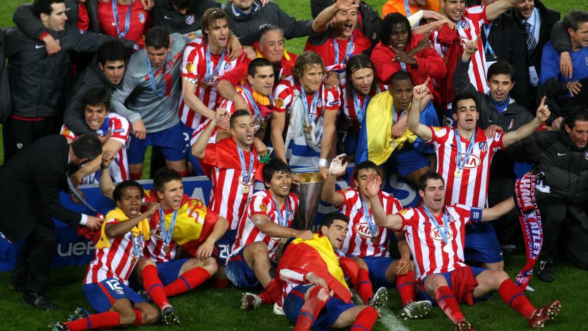 El momento en el que el Atlético de Madrid se proclamó campeón de la Europa  de 7a95f67149f4a