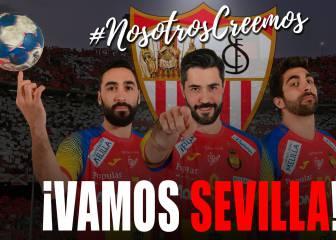 Los Hispanos bendicen al Sevilla: #nosotroscreemos