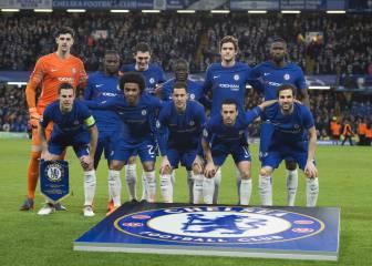 El Chelsea salió de inicio ante el Barça sin jugadores ingleses
