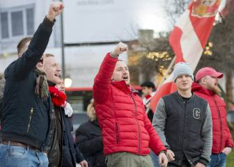 En libertad 8 de los 9 detenidos por los incidentes entre ultras de Athletic y Spartak
