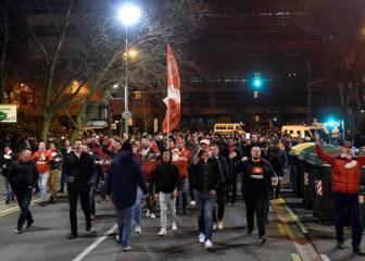 La UEFA valora prohibir que viajen los ultras del Spartak