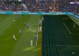 Gol anulado a Benzema por un fuera de juego inexistente