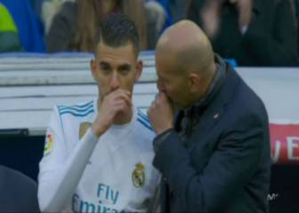 Zidane dio 15 minutos a Ceballos tras el cambio en Butarque