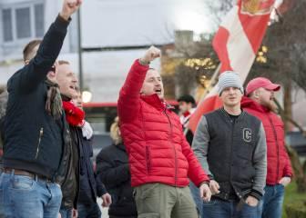 """Rusia exculpa a sus ultras y habla de """"provocación"""" en Bilbao"""