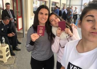 Las internacionales se van de turismo en su día libre