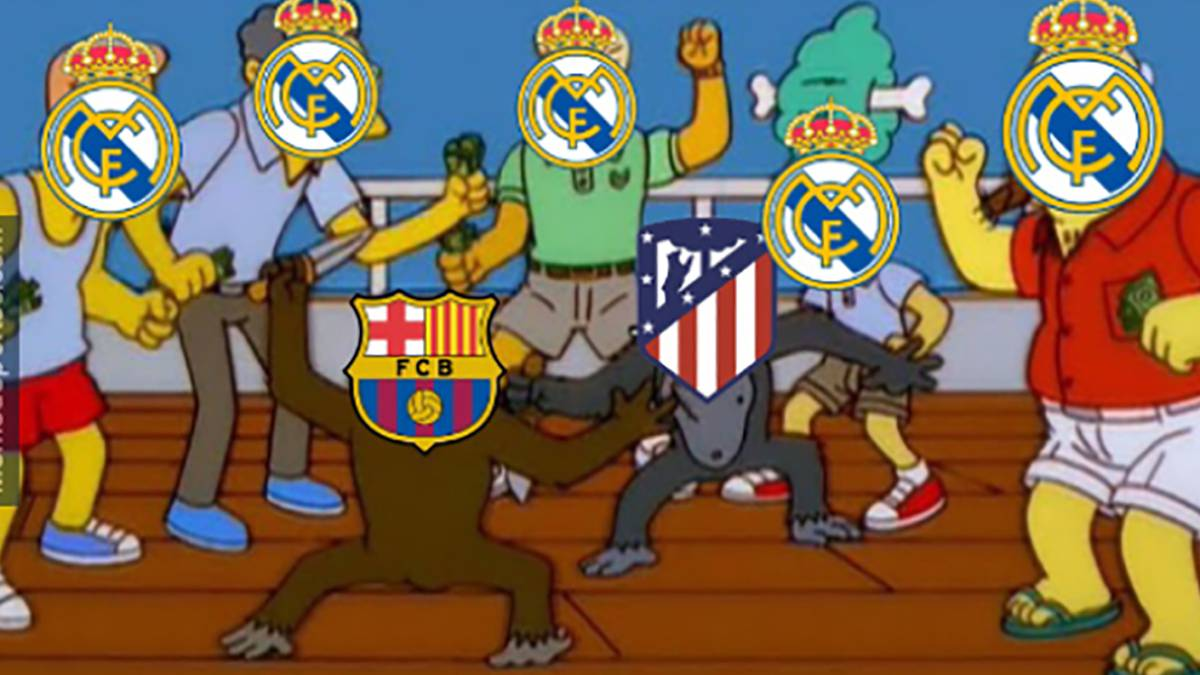 The Best Memes From Barcelona Atlético De Madrid As Com