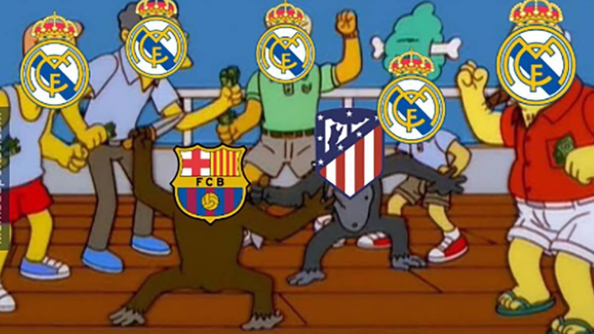 The Best Memes From Barcelona Atlético De Madrid As Com