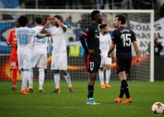 El Athletic traslada a Europa el bochorno de la Liga