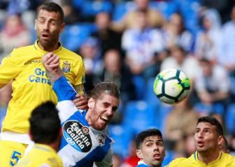 El empate prohibido condena a Deportivo y Las Palmas