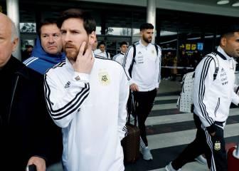 Preocupa Messi: no se entrena a tres días de medirse a España