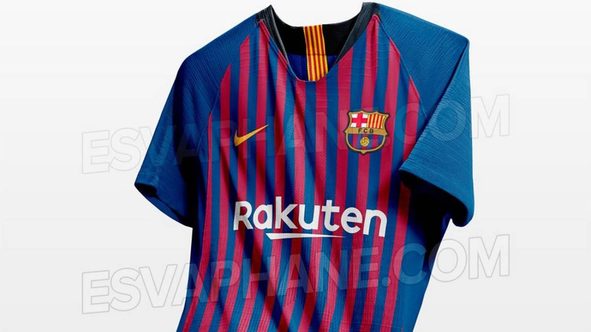 41508ff955 Nuevas fotos de la posible camiseta del Barcelona 2018 19 - AS.com