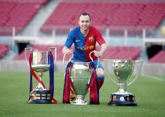 Dos años del adiós de Iniesta al Barça: descubre su impresionante palmarés