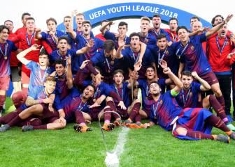 Cómo ver en TV los partidos de la Youth League 2018-2019