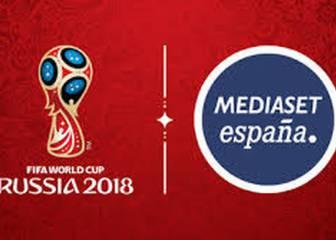 Así se verán todos los partidos del Mundial de Rusia en Mediaset