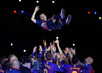 Barcelona-Real Sociedad: el adiós de Andrés Iniesta