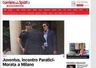 Morata se reúne en Milán con el director deportivo de la Juve