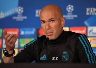 """Zidane: """"Como dijo Isco, el marrón del once me lo como yo"""""""