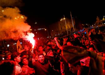 El Samur atendió a 38 personas en la celebración del triunfo