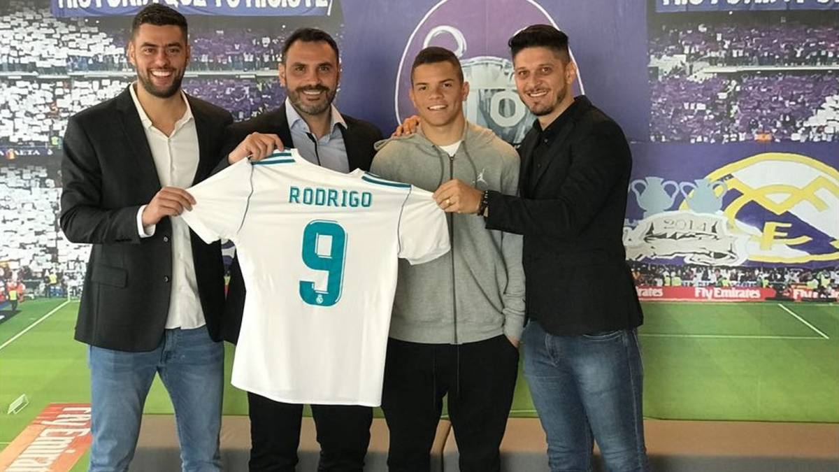 starlet signing  complete of Rodrigues: Real Madrid Rodrigo