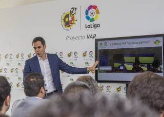 """""""El VAR disminuirá la violencia y los jugadores ya protestarán"""""""