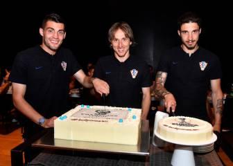 Croacia: dos títulos, dos tartas